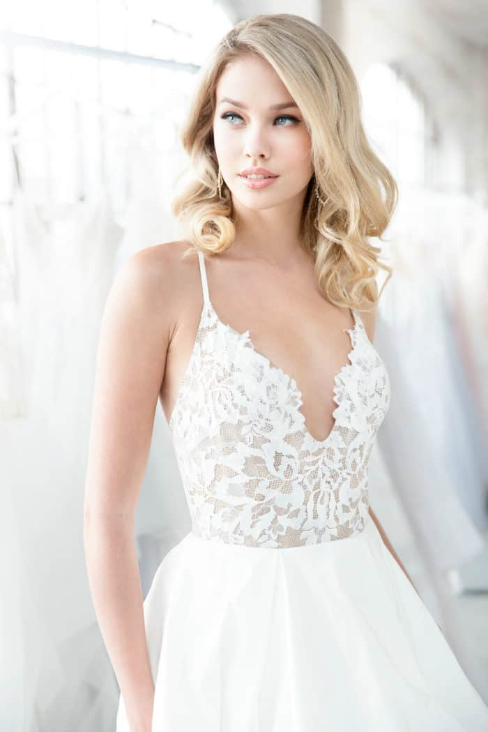 Zuri wedding dress Blush by Hayley Paige