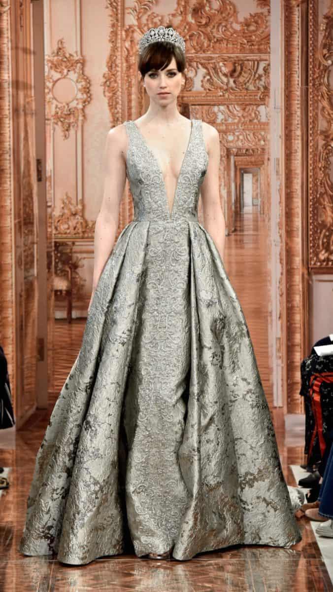 Margaret wedding dress royal collection Theia