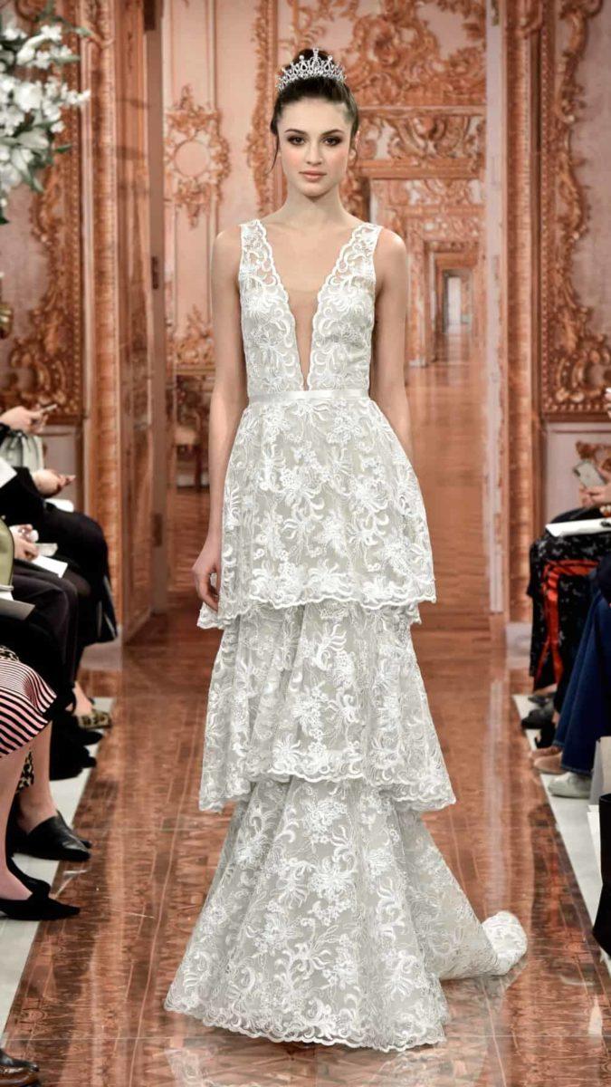 Georgiana Tiered Wedding Dress by Theia 2019