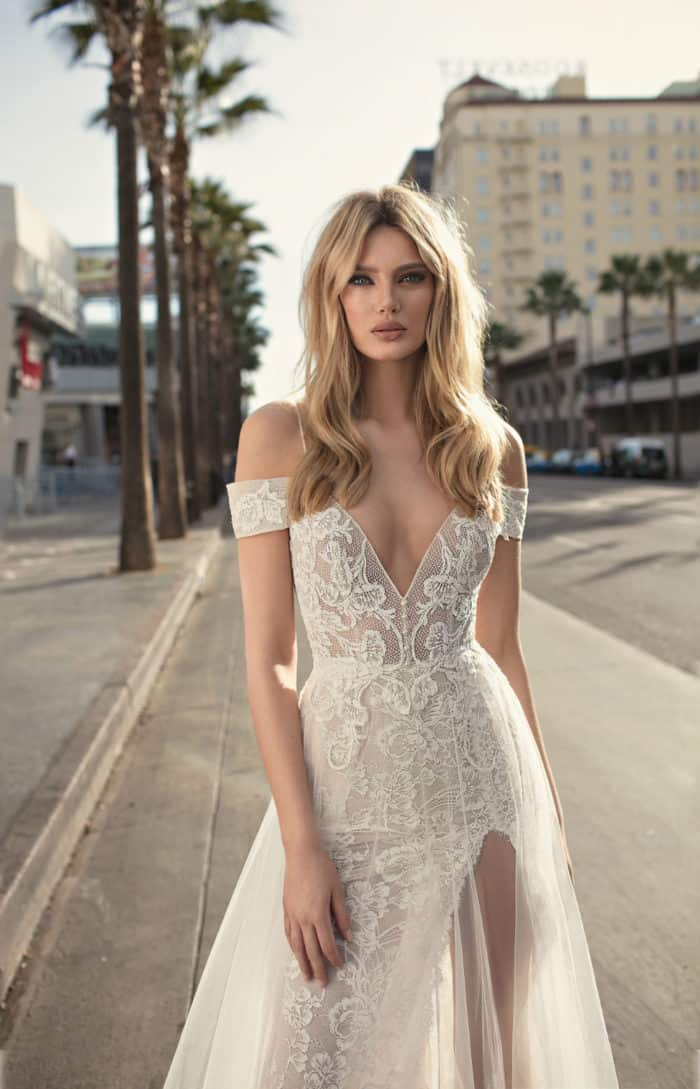 Muse Berta 2019 off the shoulder wedding dress