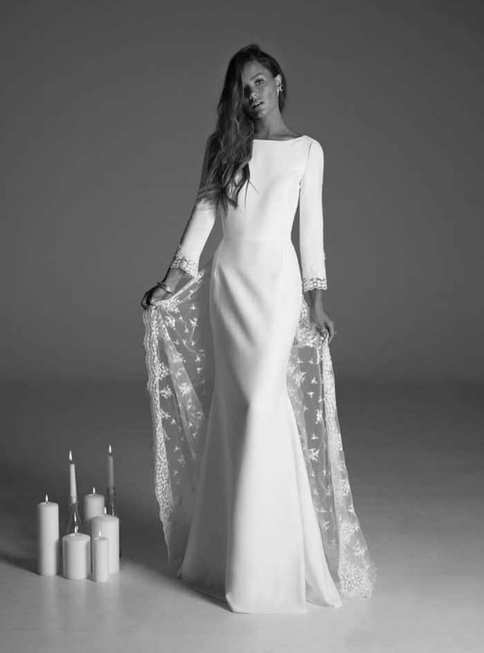 rime arodaky wedding gown suki
