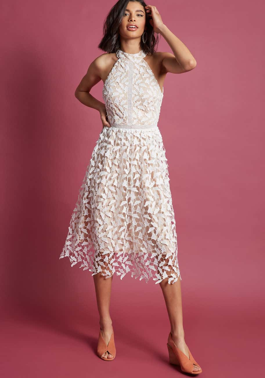 0bfd281d6429 15+ Rehearsal Dinner Dresses for the Bride-to-Be | Dress for the Wedding