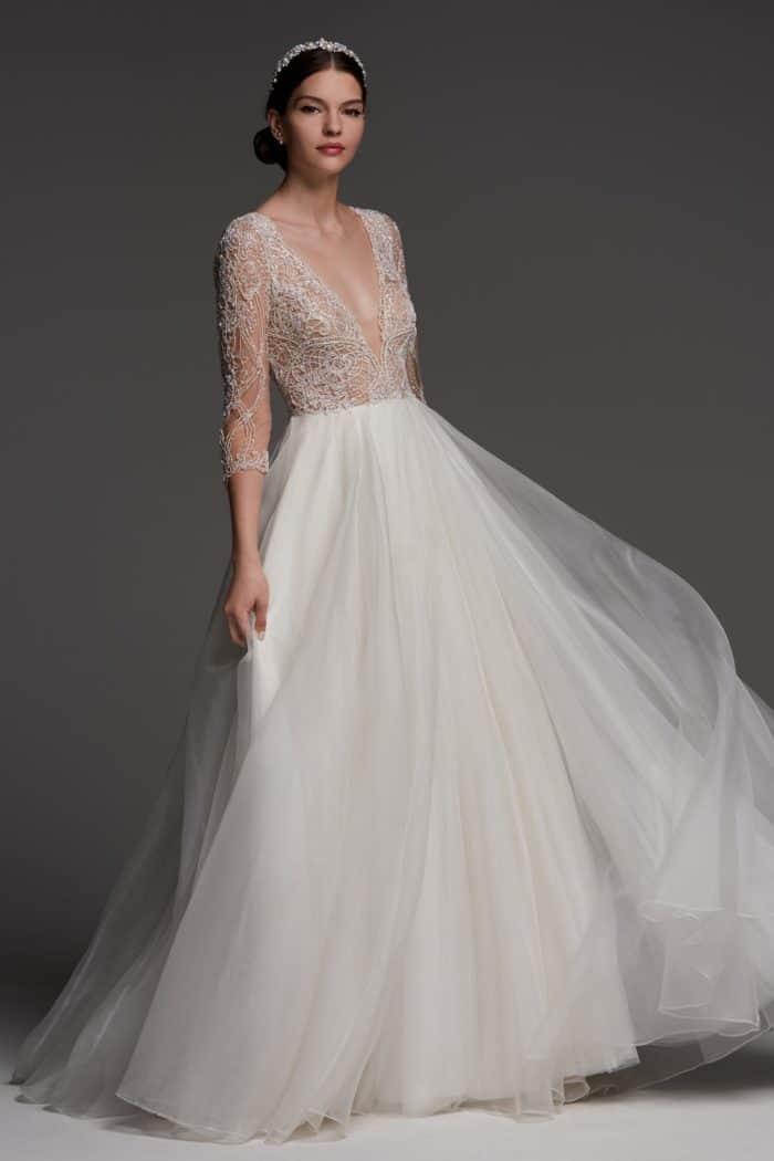 Watters Brides Wedding Dresses Spring 2018 Dress For The Wedding,October Wedding Guest Autumn Dresses 2020