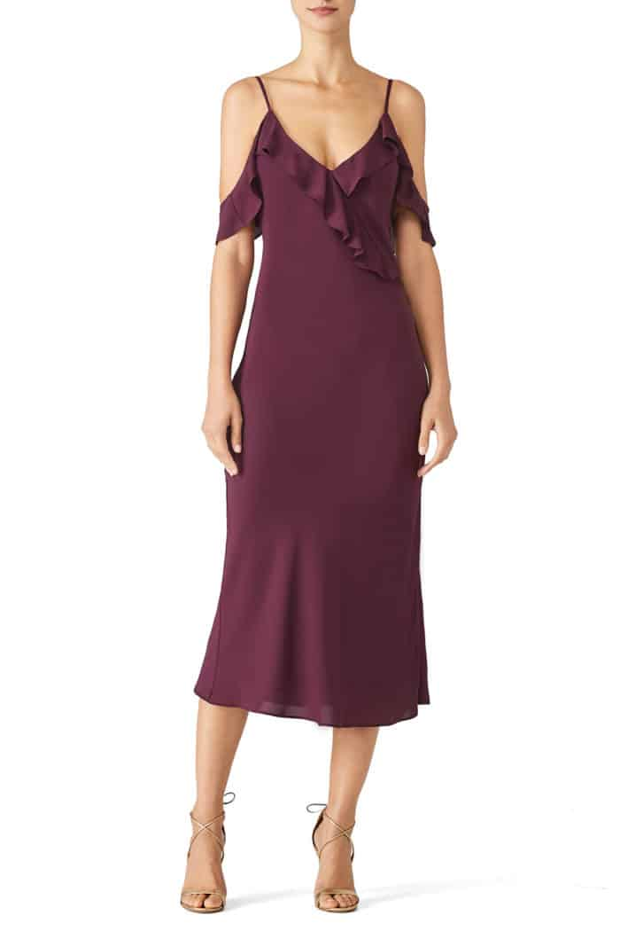 fall wedding guest dress to rent