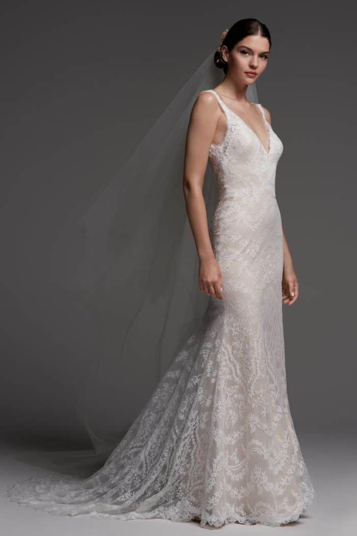 Eugenie wedding dress Watters