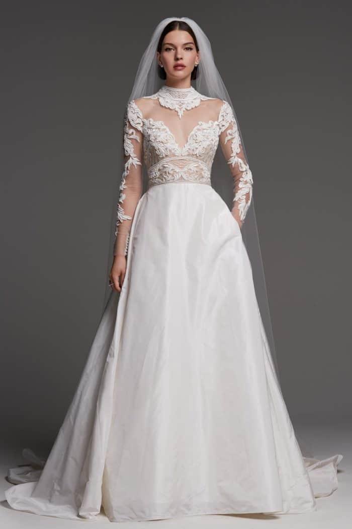 Watters Kelly wedding dress