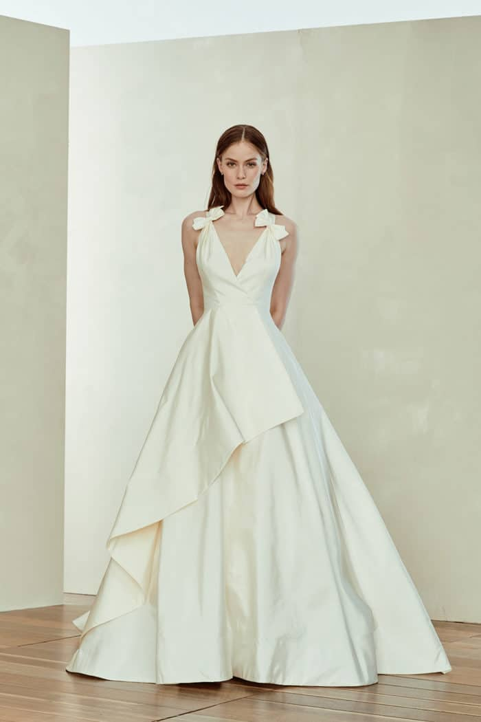 Amsale Stella wedding dress