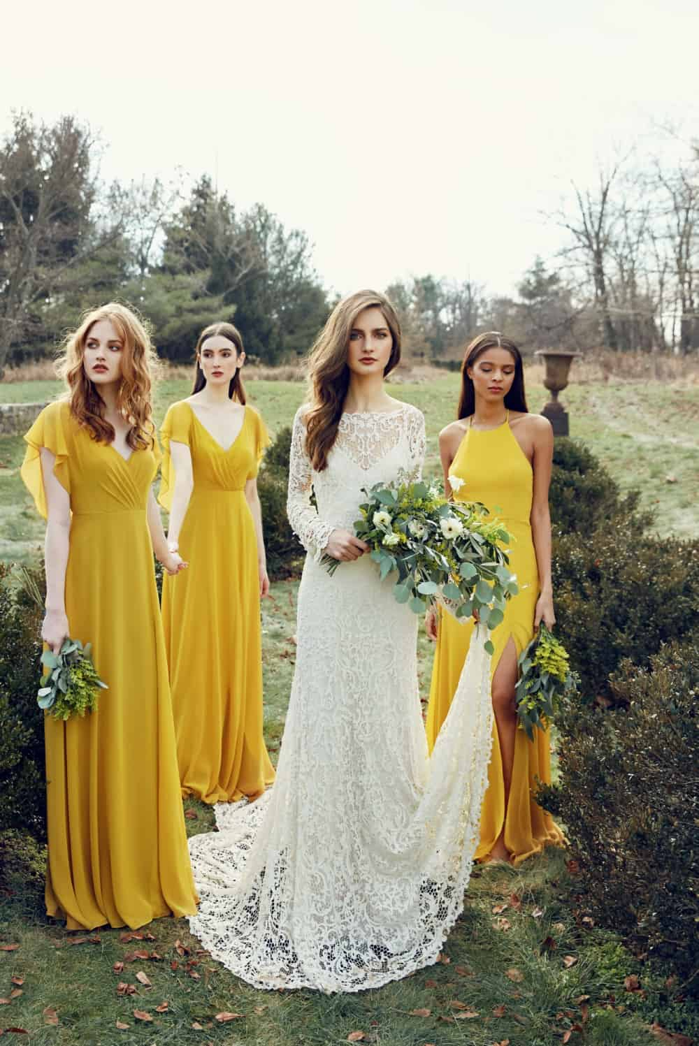 Jenny Yoo wedding dresses and bridesmaid dresses 2018