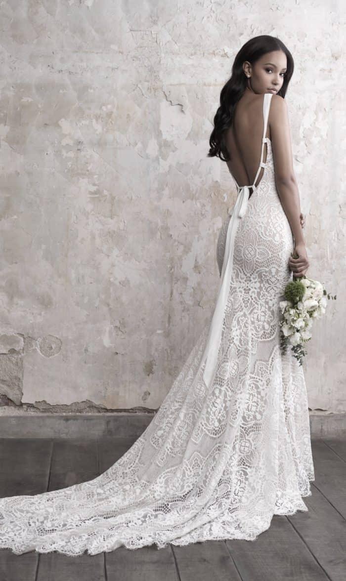 Lace wedding dress Madison James Style MJ461
