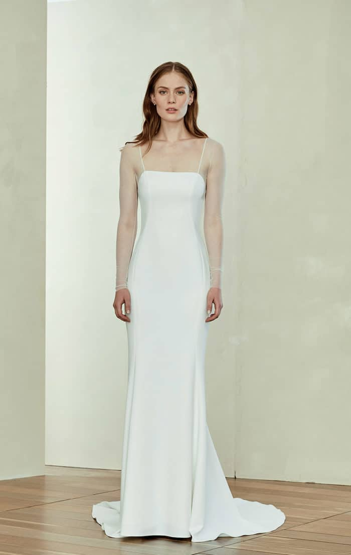 Modern wedding dress - Miri by Amsale Spring 2019