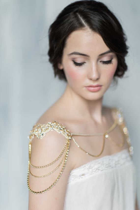 6aa27c70c30a Romantic and Unique Bridal Accessories from Blair Nadeau Bridal ...