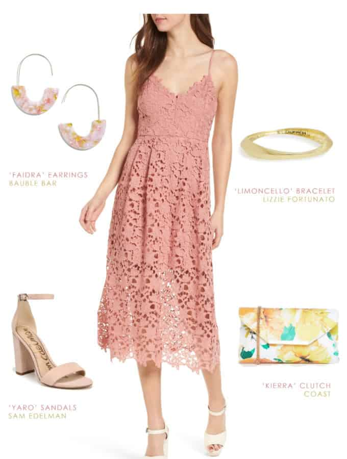 Cute dress to wear to a casual daytime wedding in Charleston