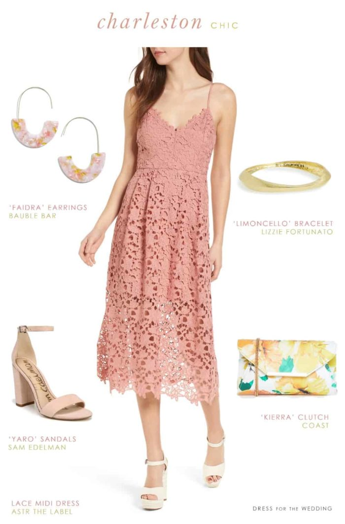 Dress for the Wedding | Cute dress to wear to a casual daytime wedding in Charleston