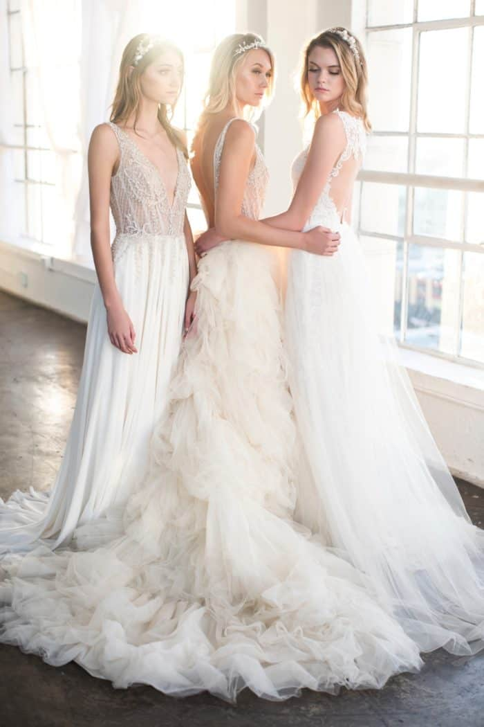 Dresses from the 2018 Winnie Couture wedding dress collection