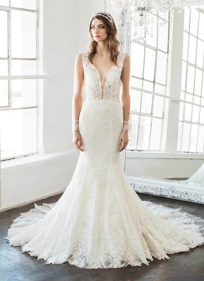 Kendall wedding dress by Winnie Couture 2018