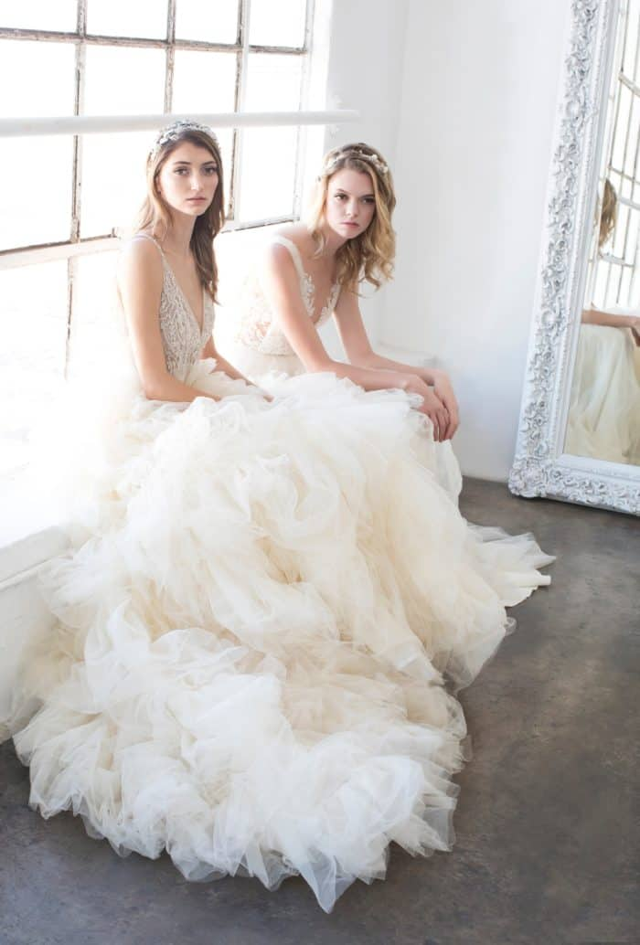 Tulle ballgown wedding dresses from Winnie Couture 2018 Collection