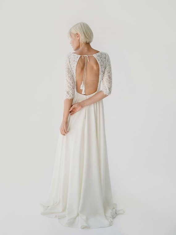 Alannah wedding gown from Truvelle
