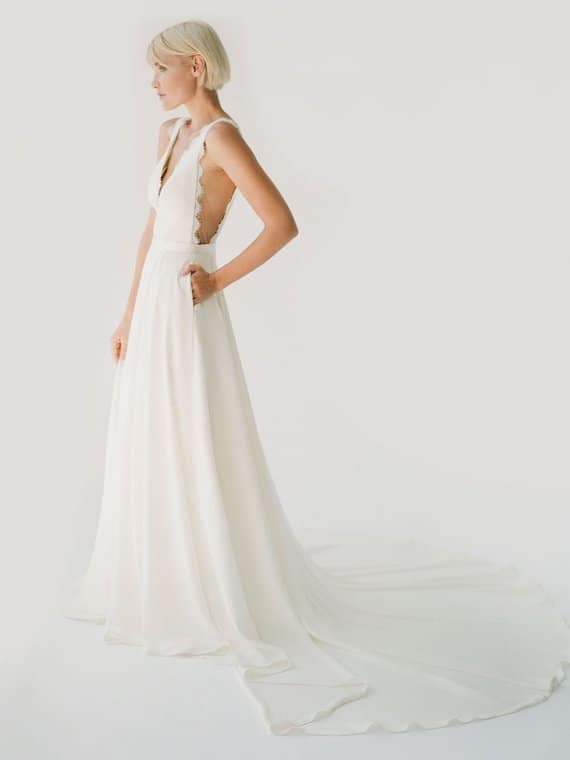 Bea wedding dress Truvelle
