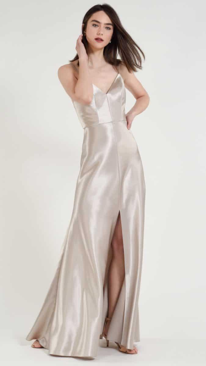 Jenny Yoo Satin Bridesmaids Dina