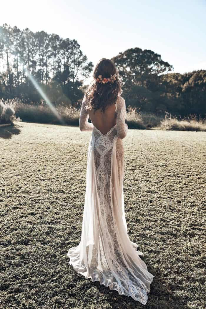 Inca wedding dress by Grace Loves Lace