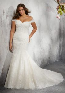 Gorgeous Plus Size Wedding Dresses from the Julietta Collection