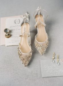 Beautiful and Comfortable Wedding Shoes by Bella Belle Shoes
