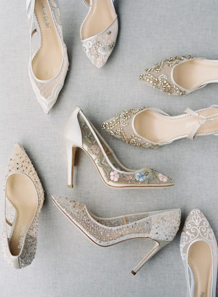 Bella Belle wedding shoes the prettiest wedding shoes