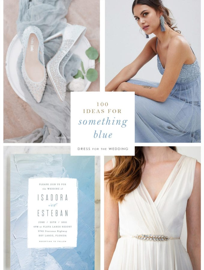 100 Ideas for Something Blue for a wedding