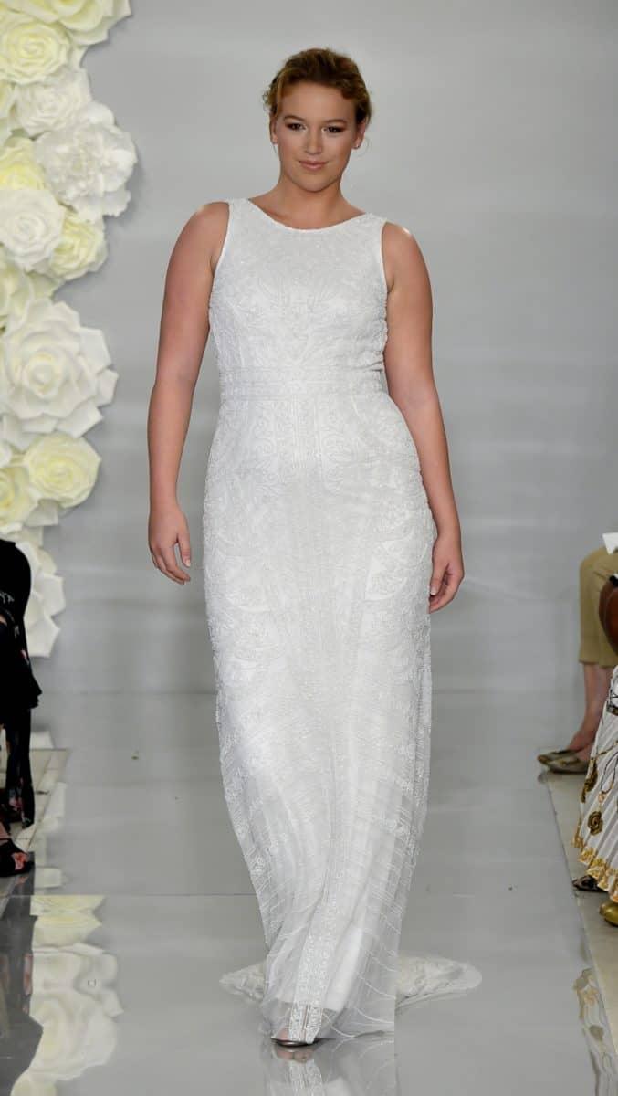 Cutaway beaded wedding dress Charlotte