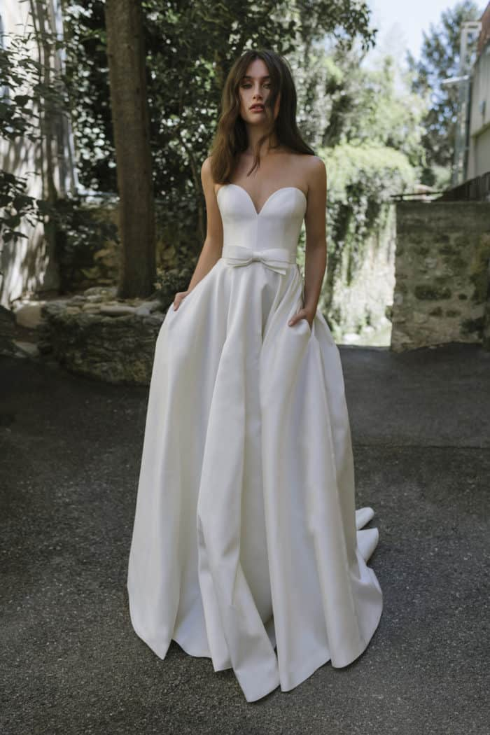 Strapless wedding dress Fall 2019 Lihi Hod Wedding Dresses