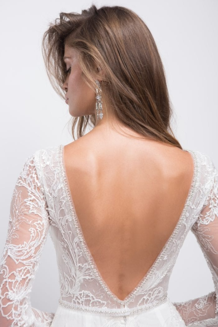 Lihi Hod wedding dresses Fall 2019 | Elizabeth, back detail