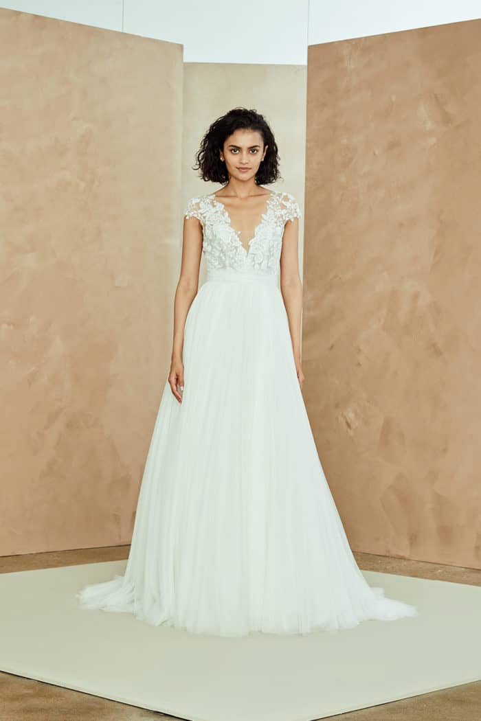 Danielle Nouvelle Amsale wedding dress