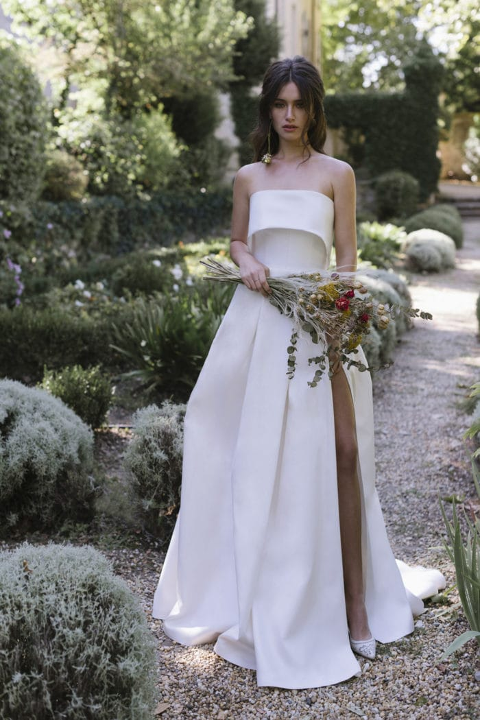 Strapless ballgown wedding dress Ola by Lihi Hod