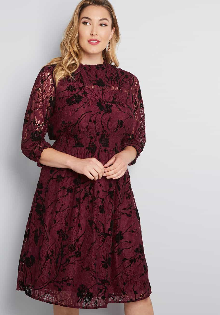 Long Sleeve Dresses for Wedding Guests | Dress for the Wedding
