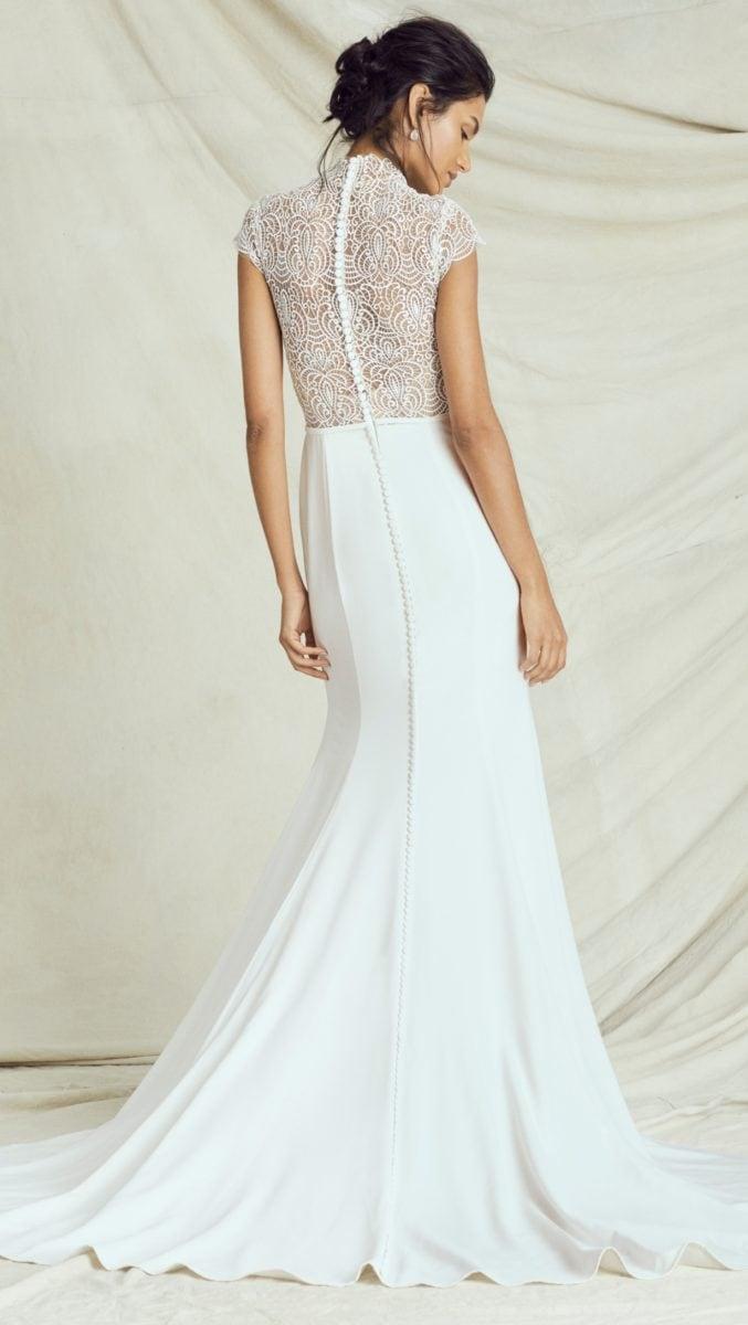 Lace bodice wedding dress   Kelly Faetanini Fall 2019 Bridal Collection