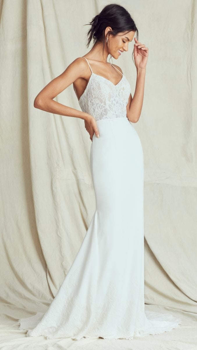 Cher bridal gown Kelly Faetanini Fall 2019 Bridal Collection