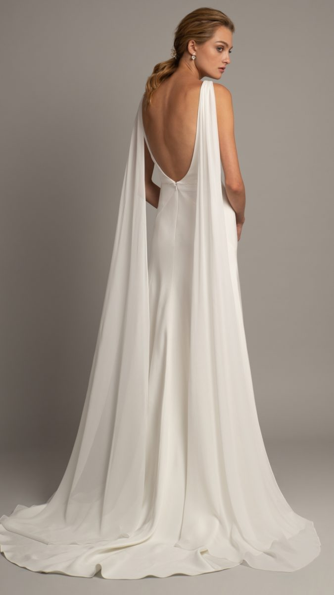 Jenny Yoo wedding dresses 2019 | Wesley gown back detail