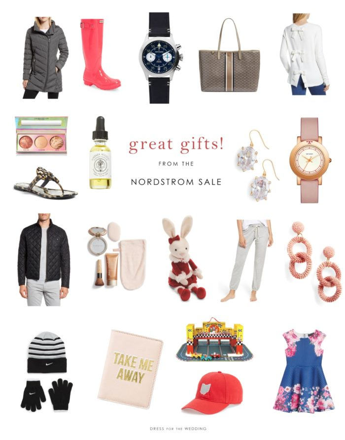 Great gift ideas from the Nordstrom sale 2018