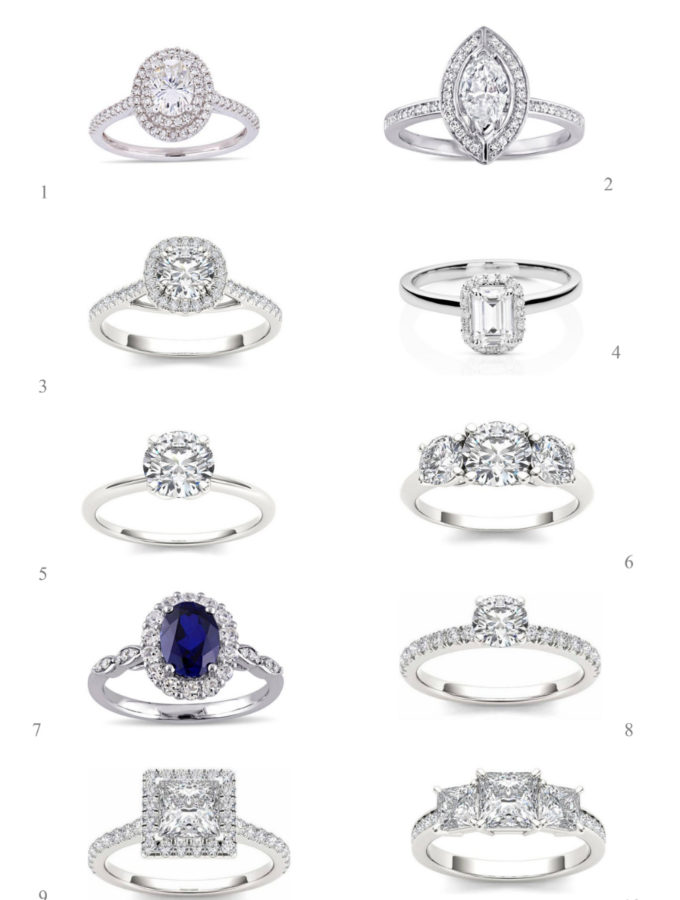 Engagement ring styles for 2018 - 2019 engagement season