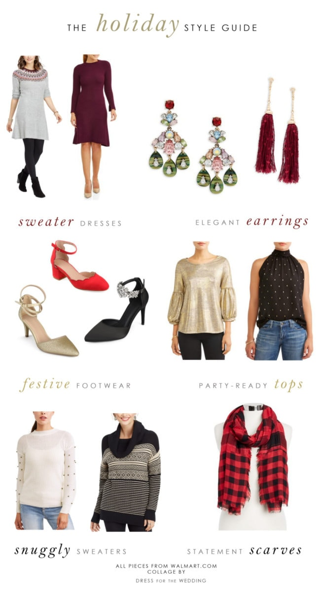 Affordable outfits for the holidays from Walmart