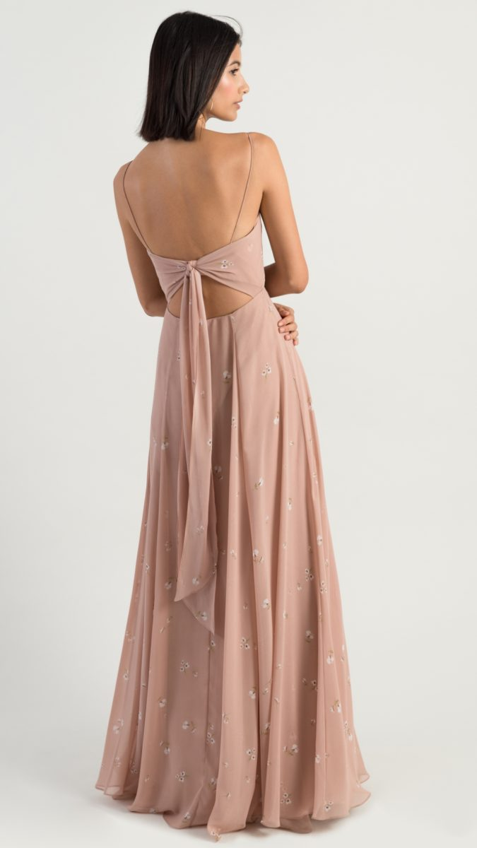 Tie back bridesmaid dress | Kiara by Jenny Yoo