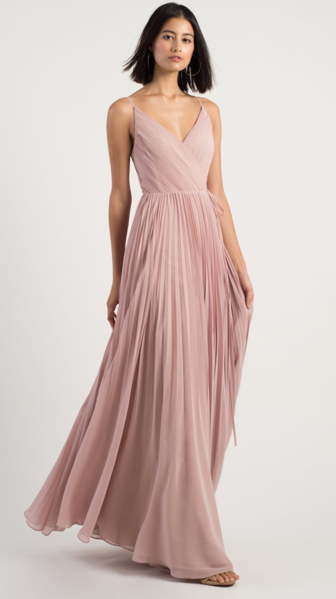 Pleated bridesmaid dress | Kimi by Jenny Yoo