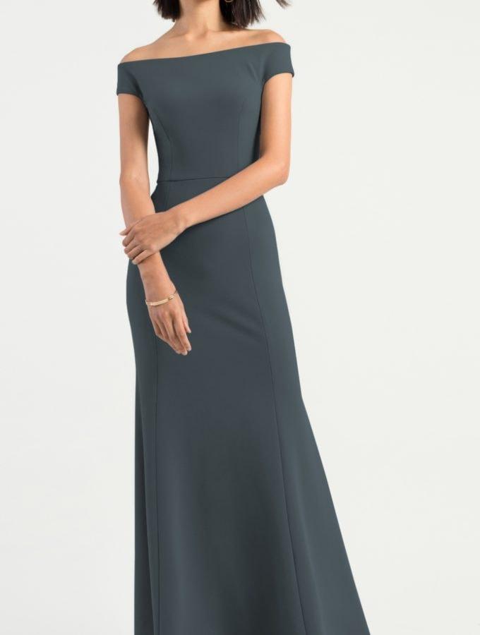 Off the shoulder bridesmaid dress | Larson Jenny Yoo