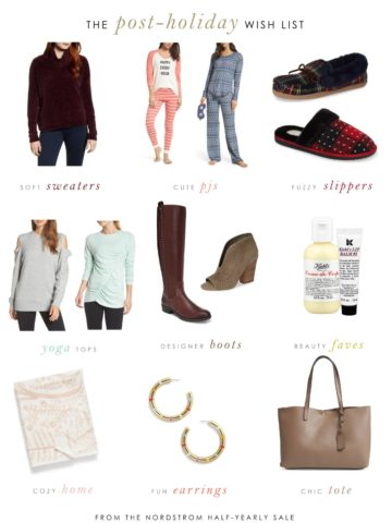 Post holiday sale picks from Nordstrom