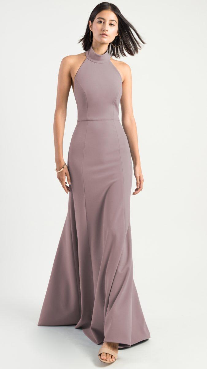 High neck bridesmaid dress | Petra by Jenny Yoo