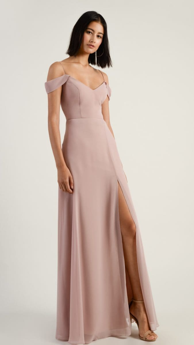 Whipped Apricot bridesmaid dress by Jenny Yoo | Style Pryia