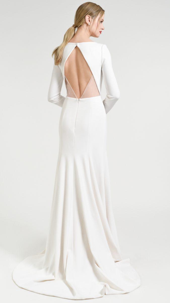 Back detail of Blythe wedding dress Jenny by Jenny Yoo Fall 2018
