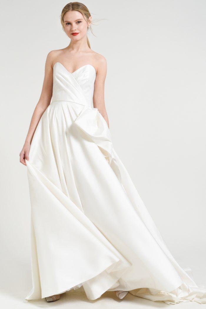Strapless ballgown wedding dress | Charlotte Jenny by Jenny Yoo Fall 2018 wedding dresses