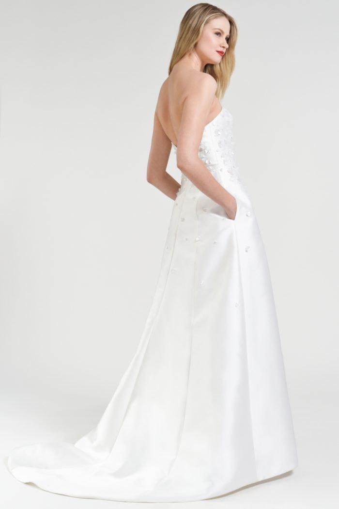 Strapless wedding dress with pockets | Odette Jenny by Jenny Yoo