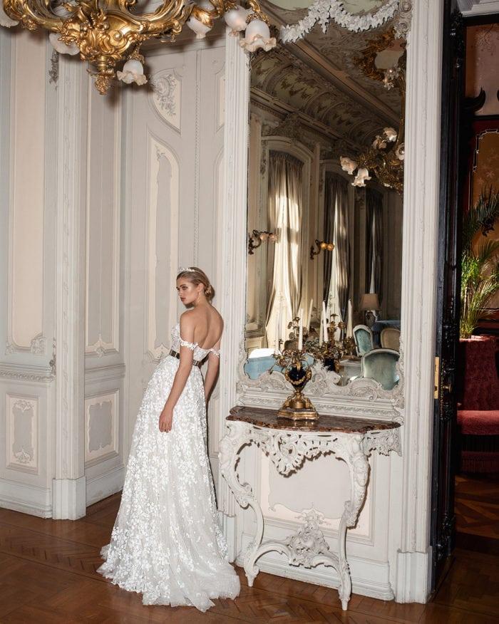 Solange wedding gown